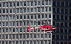 Urban Landing (bart7jw) Tags: new york newyork canon chopper manhattan flight sigma landing helicopter 18250 700d t5i