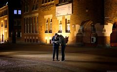 In Search Of Alkmaar (Emil de Jong - Kijklens) Tags: street city people tourism yellow night gold nacht tourist alkmaar geel stad donker straat goud toerist toerisme verdwaald