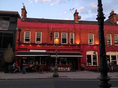 The Old City Arms (John Willoughby) Tags: bridge england london pub unitedkingdom hammersmith