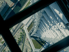 IMGP7445 (SY Huang) Tags: halloween japan architecture tokyo    sundae glassfloor skytree
