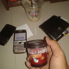 #ไอศกรีมนมสด #อร่อย มากๆ ครับ #กาแฟ ก็อร่อย พนง บริการดี ครับ  #ummmilk #ummmilkicecream #ummmilkbychokchaifarm #umm #milk #yummy #icecream #freshmilk #coffee #อืมมมิลค์ #delicious #i #a
