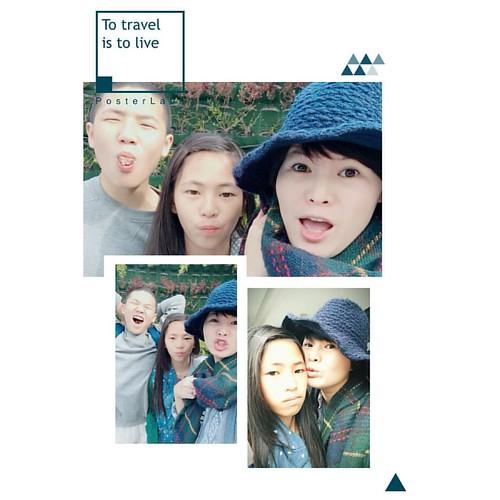#family #母子 #母女 last day in Taichung! Bye bye my dears😊