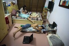 internet age (kuuan) Tags: street kids youth backalley internet olympus vietnam online mf 24mm om saigon manualfocus f28 handphone hcmc omzuikoautowf2824mm ilce7