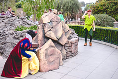 Snow White & Peter Pan (dolewhip) Tags: snowwhite peterpan disney disneyland fantasyland