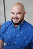 John (Levi Smith Photography) Tags: bow tie bowtie bald beard headshot professor plaid oxford blue smile cute handsome latino