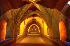 Medieval Depths (hapulcu) Tags: alcazar andalucia andalusia espagne espanha espaa spagna spain interior moorish