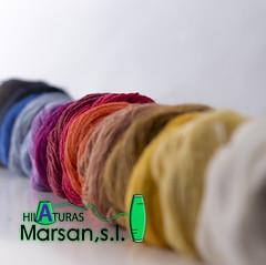 Hilaturas Marsan (j.martinezfoto) Tags: marsan cotton cot fabrica filatura fils hilatura mostres multicolor propaganda sessio strobist treball yarns hilo algodon