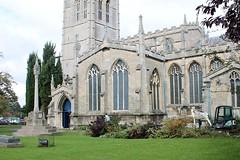 Major Gardening All Saints Church Oakham Rutland (@oakhamuk) Tags: major gardening allsaintschurch oakham rutland