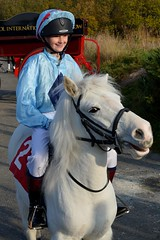 Young rider getting ready for the start (napoleon666uk) Tags: liverpool international horse festival liverpoolinternationalhorsefestival horseshow echoarena animal parade