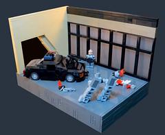 Just Die Already! (Grantmasters) Tags: robocop ed209 lego moc robocoptober