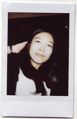 mona <3 (HACHIMAN.) Tags: instax polaroid scan analog mona portrait girl chinese china face smile cute