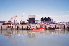 Whitstable (SkyDivedParcel) Tags: uk whitstable kent film harbour natura fuji