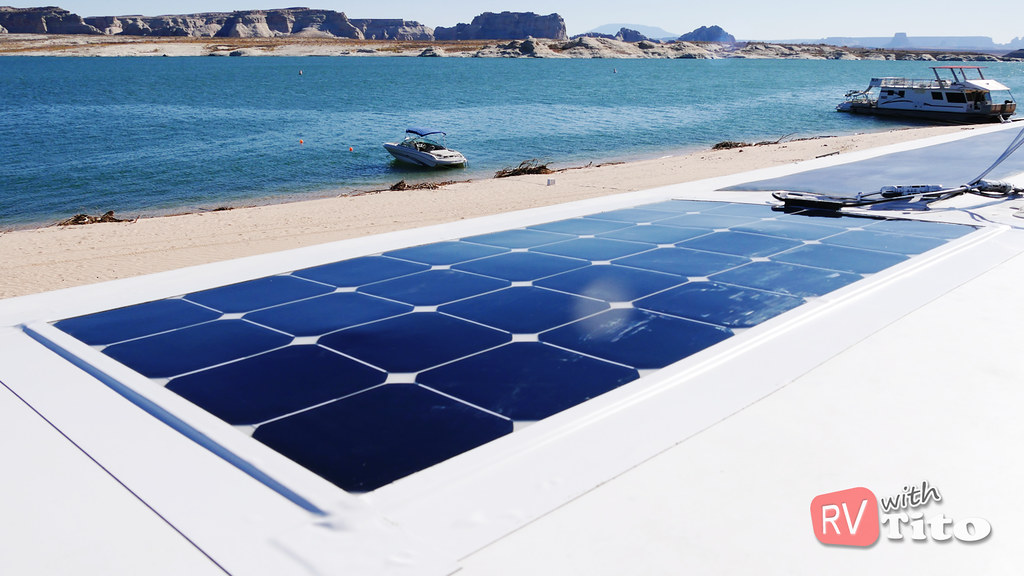 How To Install Flexible Solar Panel With No Drilling Rv