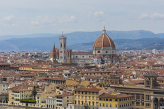 Basilica di Santa Maria del Fiore (kristianoosterveen) Tags: florence florentine skyline overview italy italian basilica di santa maria del fiore cathedrale cathedral