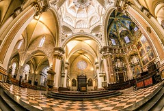 Valencia Cathedral (mg photography2) Tags: valencia fisheye cathedral church spain espana europe travel interior tourism tourist canon