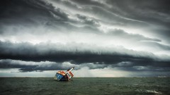 The Perfect Storm (fotobytuggtugg) Tags: landscape storm seascape water could sky