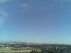 Sydney 2016 Oct 21 07:33 (ccrc_weather) Tags: ccrcweather weatherstation aws unsw kensington sydney australia automatic outdoor sky 2016 oct earlymorning