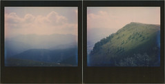 On Goldeck Diptych (sycamoretrees) Tags: alpen alpine alps analog blackframe blackframeedition carinthia clouds colorspectra colorspectra201510 diptych film goldeck impossible instantfilm integral integralfilm kärnten marianrainerharbach mountains polaroid spectra trees