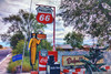 Route 66 (EVERY SO OFTEN) Tags: us usa route 66 road trip tacky arizona brash tourist pop art sonya7r fe35mm hdr