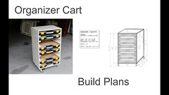 Organize Cart - Small Rack Build Plans (davewirth.blogspot.com) Tags: organize cart small rack build plans httpdavewirthblogspotcom201610organizecartsmallrackbuildplanshtml i built another smaller version organizer parts storage stacking cases heres link 12 case model httpswwwyoutubecomwatchvctgp7jbplxs this is for only 8 but basic design same its designed fit harbor freight plastic trays perfect storing bolts screws etc httpyoutubeo0qim8u65s