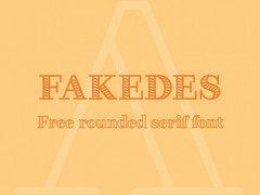 Download Fakedess free font (vectorarea) Tags: fonts freefontstouse serif