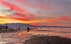 A magical sunset... (Sutapa Karmakar) Tags: nature naturephotography southlaketahoe califonia californiascape californiatourism landscape waterscape tahoe