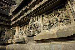 Temple murals (A. Wee) Tags: yogyakarta prambanan indonesia  unesco world heritage mural