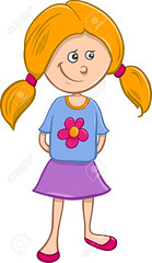 cute girl cartoon (Bbb31burks) Tags: girl little cute cartoon illustration funny child kid preschool school people character happy cheerful vector clipart comics drawing adorable smile