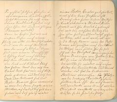 Krueger-Journal_p7-8 (Max Kade Institute for German-American Studies) Tags: krueger journal handwriting immigration frederickkrueger martinkrueger handwritten cursive kurrent