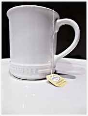 Day 338 - Tea for Me (Free 2 Be) Tags: dailyphoto tea postaday 365 cup drink photoaday white beverage hot project365