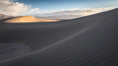 Sand Swoops (Kirk Lougheed) Tags: california deathvalley deathvalleynationalpark mesquitedunes usa unitedstates dune landscape nationalpark outdoor sand