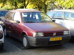 1993 Fiat Tipo (harry_nl) Tags: netherlands nederland 2016 culemborg fiat tipo gfsg61 sidecode5