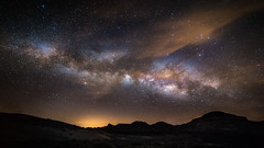Tenerife Milky Way (MartinFechtner-Photography) Tags: sky night clouds stars canon long exposure star tenerife eos milky way f28 galaxy samyang nacht photography galaxie canary islands walimex 14mm nightscape teneriffa sterne santa cruz de rokinon caldera milchstrase 6d canadas spain territorial waters la gomera