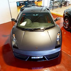 """Those colours #lamborghini #gallardo #v10 #newfloor #supercar #f1 #coupe #red #grey #italy #carsforsale #perth #perthisok #fabcar #merchantsofhighoctane #drivesomethingdifferent • <a style=""""font-size:0.8em;"""" href=""""http://www.flickr.com/photos/42053293@N04/30643540066/"""" target=""""_blank"""">View on Flickr</a>"""