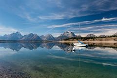 Jenny Lake (greggohanian) Tags: grandtetons tetons mountains jennylake lake reflections sailboat
