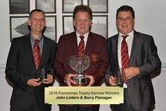 007-John Lintern & Barry Flanagan-Foursomes Trophy Kernow Winners (Neville Wootton Photography) Tags: 2016golfseason andrewcorfield golfsectionmens johnlintern medalsmens presentationnights stmelliongolfclub winners saltash england unitedkingdom