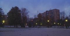 Christmas Is coming (Affectus_animi_ph) Tags: christmas christmasmood snow street moscow light evening calmness hopeful