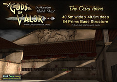 Gods of Valor - The Ostia Arena (Filipa Thespian) Tags: ancientrome ancientroman rome roman italy roleplay secondlife