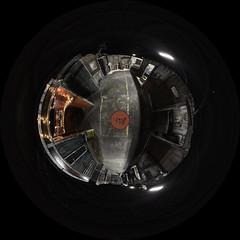 Interior room - Haunted House - Little Planet (RickDrew) Tags: interior haunted house fisheye canon ptgui photoshop pano2vr panoramic planet circle 5d mkiii midnight terror