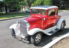 Auto 1931 Ford refurbished IMG_4984 Auto Ford 1931 rnov (Nicole Nicky) Tags: canon canonpowershot car auto automobile ford refurbished rnov vehicle red voiture