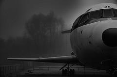 "Zulu Kilo (Explored) (CJS*64 ""Man with a camera"") Tags: dslr d7000 nikon nikkorlens nikkor nikond7000 cjs64 craigsunter cjs blackwhite bw blackandwhite whiteblack whiteandblack shadows shadow aircraft airplane trident manchester manchesterairport"