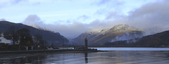 Sand bank war memorial . Holy loch . (squeegle1) Tags: argyll sandbank holy loch sea war memorial