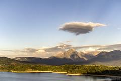 Lake of Campotosto (Angeloni Photographer) Tags: campotosto laquila italia landscape nature lake lago mountain angeloniphotographer cloud lakeside