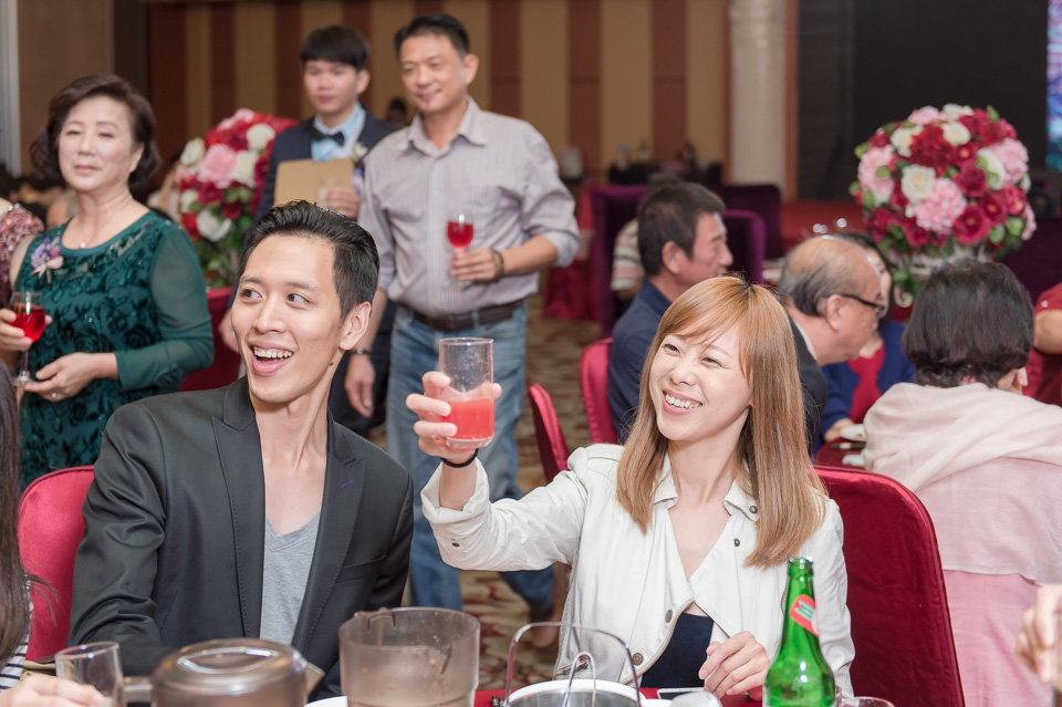 台南婚攝 婚禮紀錄 情定婚宴城堡 C & M 159
