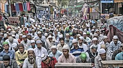INDIA8023 (Glenn Losack, M.D.) Tags: india jummah islam muslims prayer fridays sabbath religion photojournalism streetphotographer