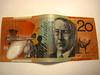 Australian $20 Note (lukedrich_photography) Tags: canon powershot d10 australia oz commonwealth أستراليا 澳大利亚 澳大利亞 ऑस्ट्रेलिया オーストラリア 호주 австралия money currency note aud australian twenty 20 bank