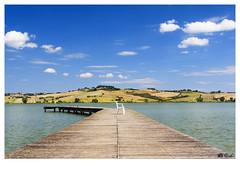 (Gi_shi) Tags: nikon iamnikon nikonitalia d7200 landscape panorama siena toscana italia tuscany italy valdorcia chiusi lake lago