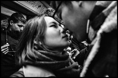 Close (GioMagPhotographer) Tags: couple france subway closeup paris kiss ricohgr