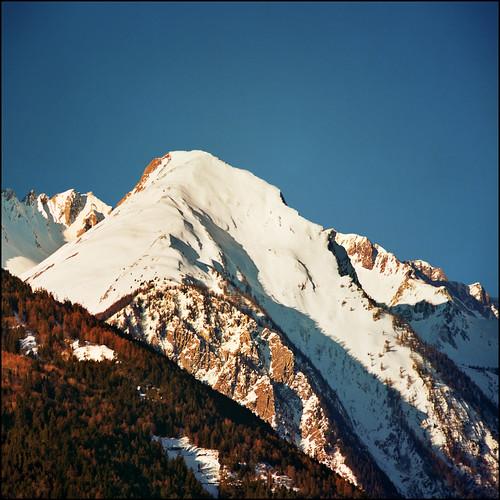 Unpretentious peak