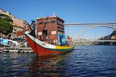 Rio Douro / Rio Duero (puma3023) Tags: oporto puente san luis douro duero rio agua barco digitalcameraclub